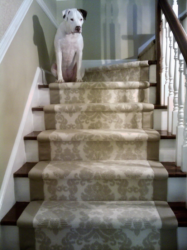 Picture Carpet Binding Sisal Serging Stair Runners Area Rugs Charlotte NC