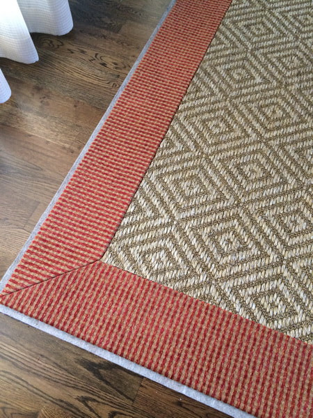Picture Carpet Binding Service Charlotte NC